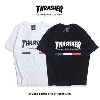 人気美品 THRASHER(スラッシャー)Tシャツth-05