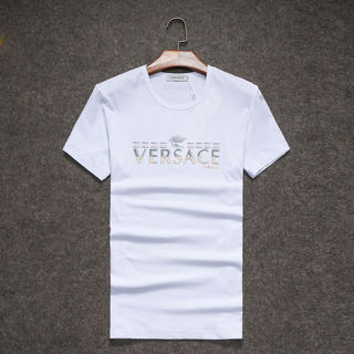 ベルサーチトップス 半袖メンズTシャツ