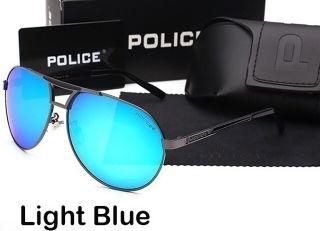 ポリス サングラス POLICE  男女兼用 ライトブルー