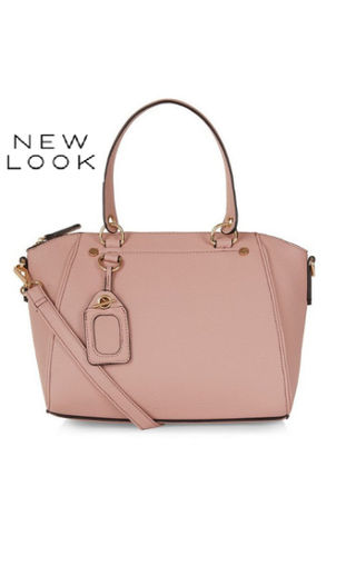 日本未入荷*NEWLOOK*Pinkミニボウラーバッグ