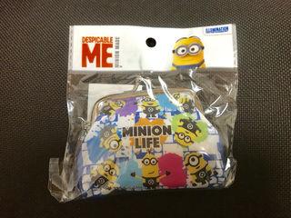 USJで人気キャラクター ミニオンのコインケース(財布)