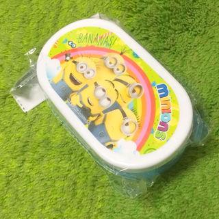 [新品]ミニオンズ カラフルプラBOX(お弁当箱)ブルーA