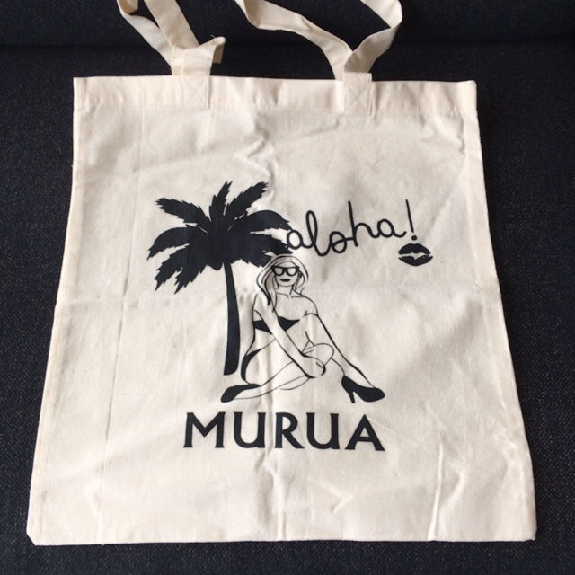 MURUA&Hawaii コラボ トートバッグ(MURUA(ムルーア) ) - フリマアプリ&サイトShoppies[ショッピーズ]