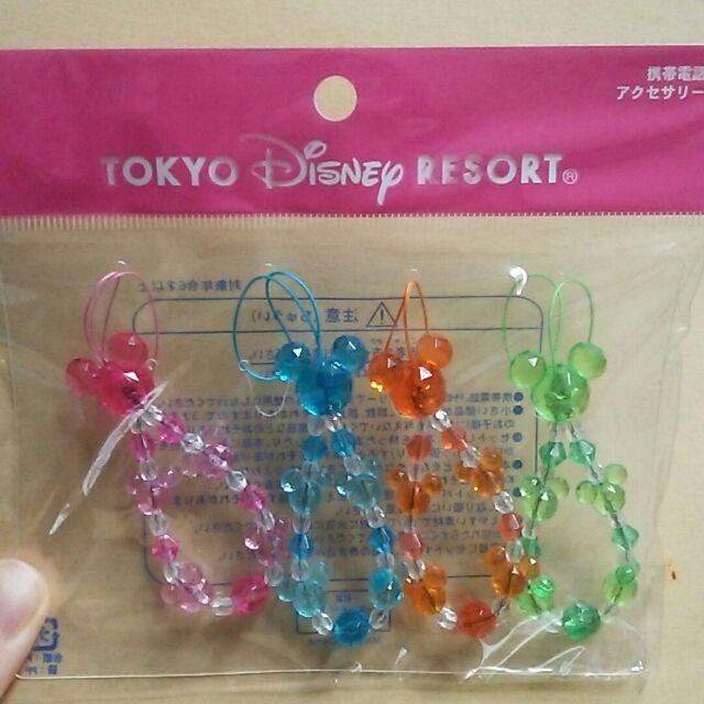 東京ディズニーリゾート限定ミッキーストラップ