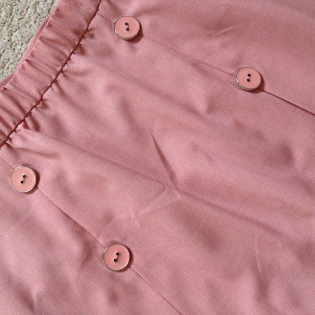 新品大きいサイズトレンチスカート