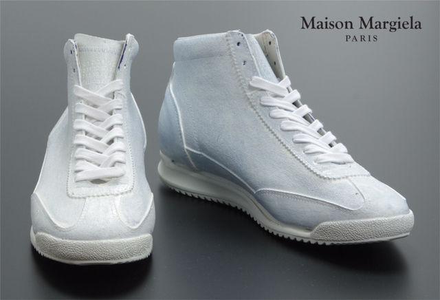 新品 限定品 Margiela ペンキ レザースニーカー(Maison Martin Margiela(メゾン マルタン マルジェラ) ) - フリマアプリ&サイトShoppies[ショッピーズ]