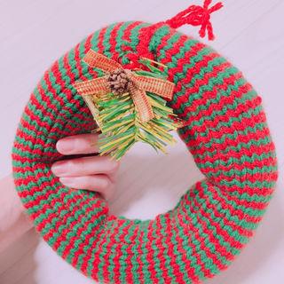 インテリア ハンドメイド クリスマスリース
