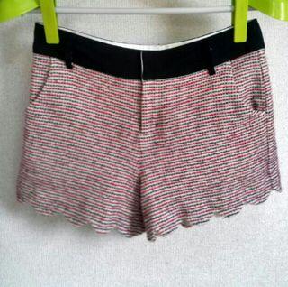 サイズ2 シンシアローリー 裾スカラップショートパンツ