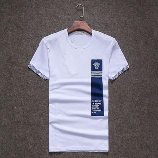超人気 ヴェルサーチ Tシャツ 4色 赤入荷 国内発送