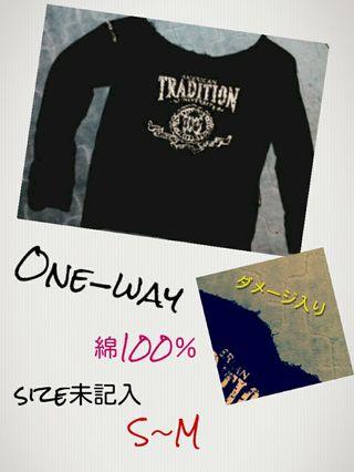 One-wayトレーナー