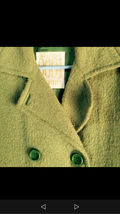 緑のコート