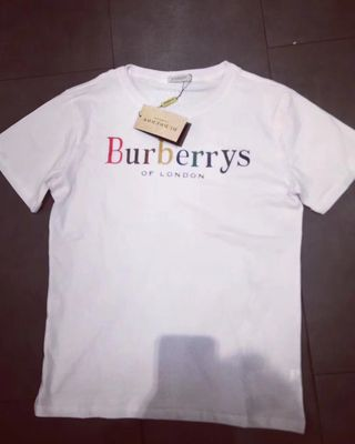 burberry18新品 レインボー Tシャツ