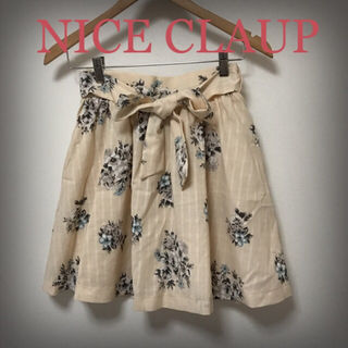 NICE CLAUP 花柄キュロット