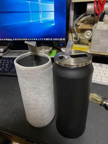 水筒 新品未使用 保温カバー付き