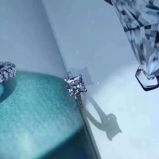 美品 経典可愛い指輪リング  SV925 C35