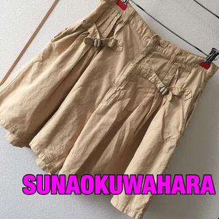 SUNAOKUWAHARAハイウエストキュロット