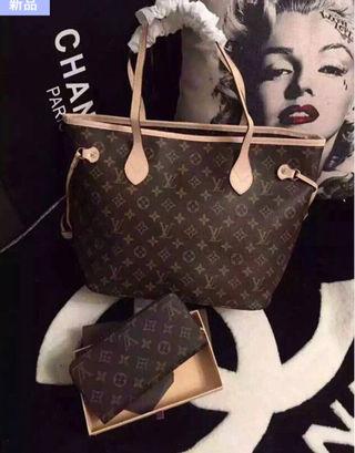 ヴィトン バッグ+財布 二点セット 3色