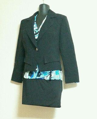 キャバ系スーツドレス