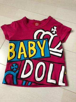BABY DOLL(ベビードール) Tシャツ