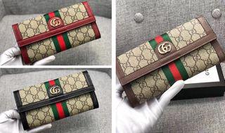 人気美品 男女兼用 2つ折長財布 3色可選