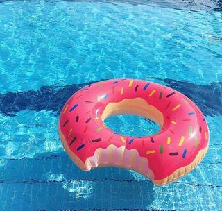 90cm 浮き輪 ドーナツ