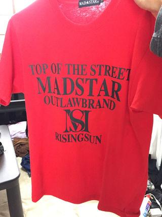 MADSTART Tシャツ