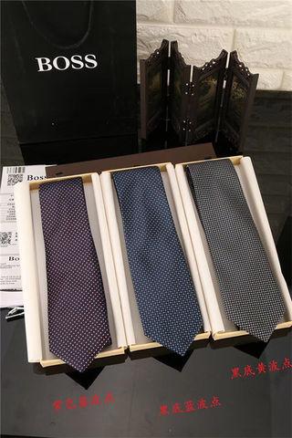 ボス 色選択可 シルク サテン ネクタイ