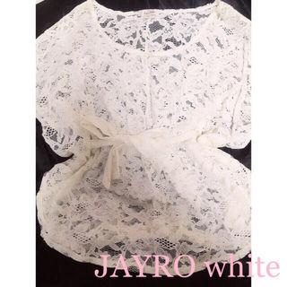 JAYRO white  レーストップス