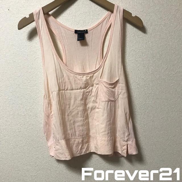 Forever21 短丈タンクトップ