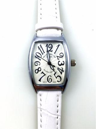 フランクミュラー クオーツ式 レディース腕時計 レザーベルト