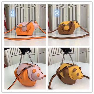 動物のショルダーバッグ 2色