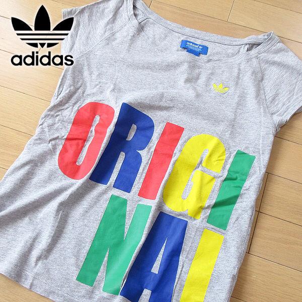 韓国限定 超美品 L位 アディダスオリジナルス 半袖Tシャツ