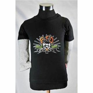 新品! ロングTシャツ ブラック
