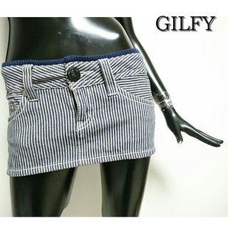 GILFY*ヒッコリースカート