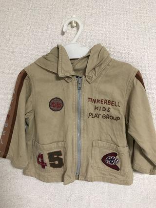 【TINKERBELL】パーカー 90