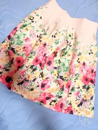 ROJITA花柄スカート