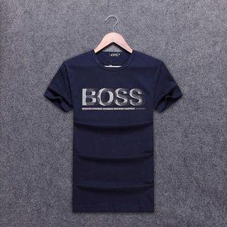 メンズ boss半袖100%コットTンシャツ おしゃれ