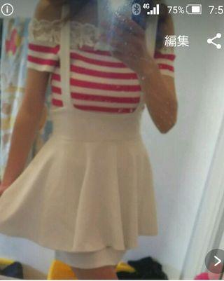 SPIGA ペプラムスカート
