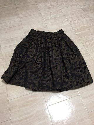 mysty  woman迷彩Zipスカート新品