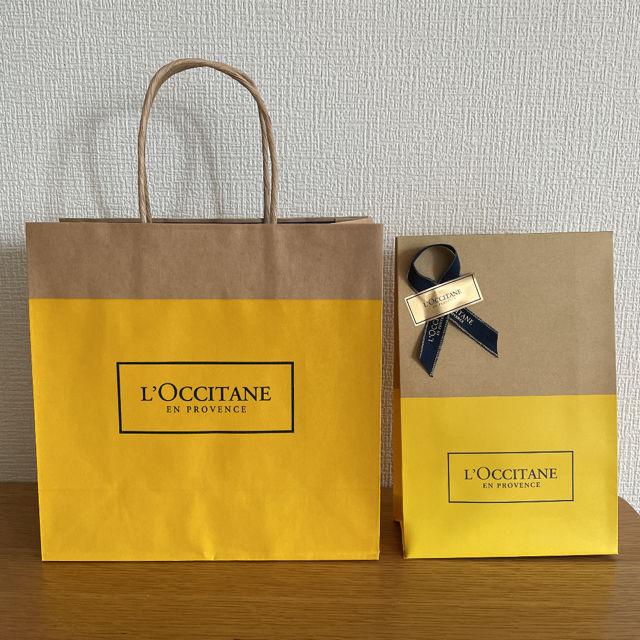 L'OCCITANE ショップ紙袋2枚(手提+プレゼント用)