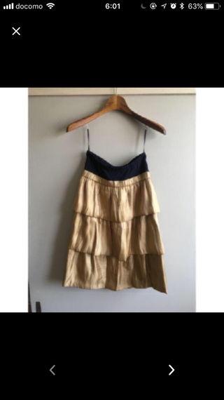 美品!カリアングの美ラインスカート!