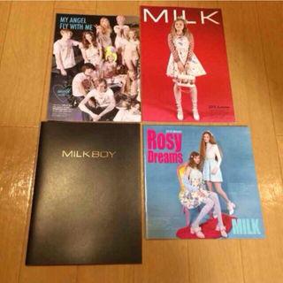 MILK MILKBOY 2015秋冬 スタイルブック 4冊