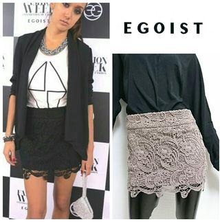 EGOIST*タイトレーススカート