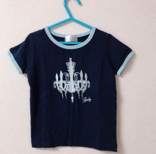 ちびRadyシャンデリア Tシャツ 100 ネイビー