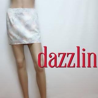 もて美尻ダズリン ぼかしフラワー スカートパンツ