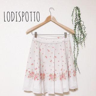 LODISPOTTO 花柄プリーツスカート