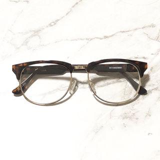 EMODA/ハーフリム伊達眼鏡