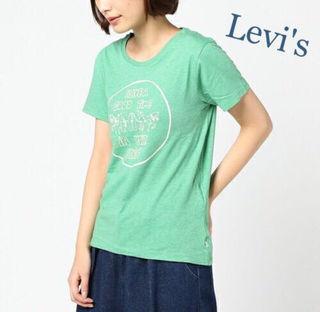 定価3,240円【新品】Levi'sロゴ入りTシャツ