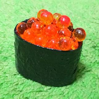 食品サンプル(マグネット)お寿司(イクラ/いくら軍艦)2