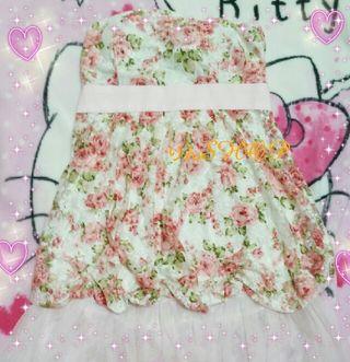 La  Pafait  花柄ワンピース ドレス